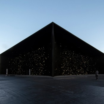 Asif Khan Vantablack Pavilion makes it into the top 10 of 2018