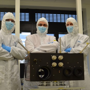 World's blackest coating material makes its debut in space