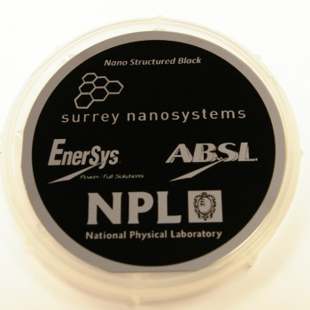 NanoTube Black - The Blackest Black