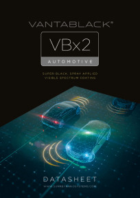 Vantablack VBx2 Automotive